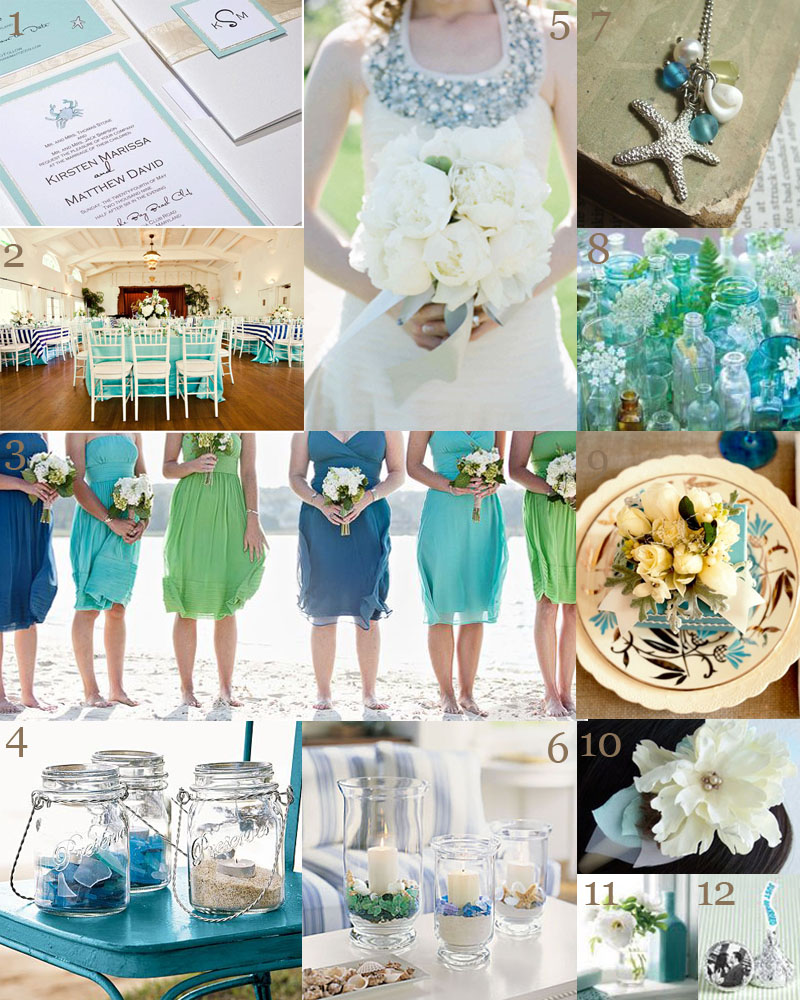 The Very Indecisive Bride: Sea Glass Duex