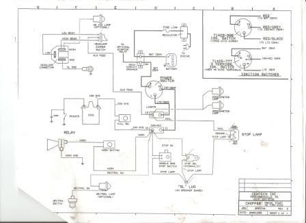 Totenkopf Bikes: Simple wiring diagram for choppers