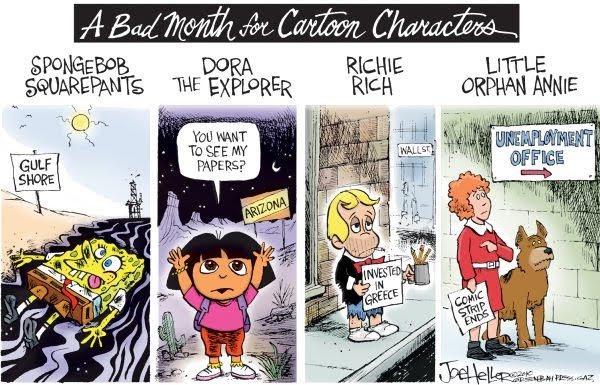 Famous Dora The Explorer Quotes: Popped Culture: A Bad Month For Cartoon Characters