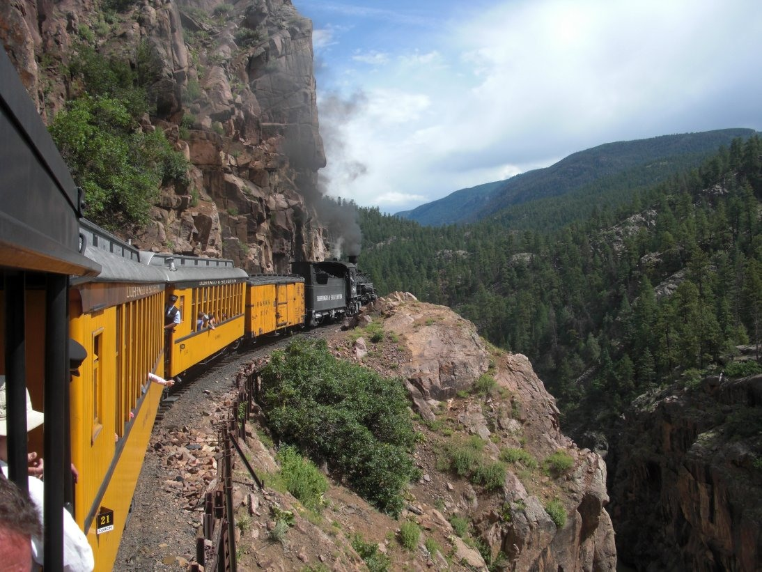 The Durango And Silverton Narrow Gauge Railroad