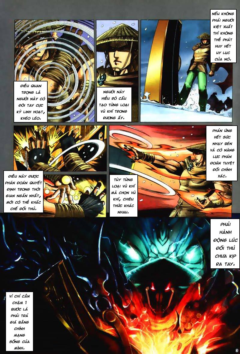 Anh hùng vô lệ Chap 7: Biệt ly trùng phùng hận trang 4