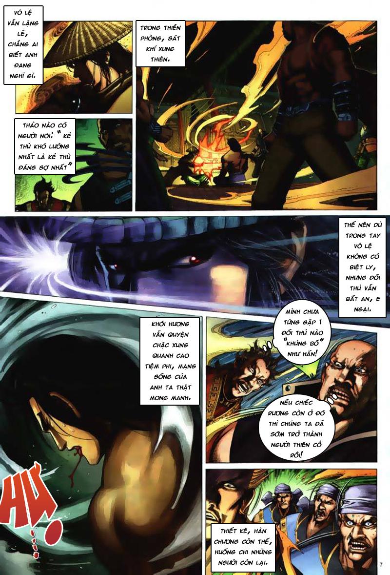 Anh hùng vô lệ Chap 7: Biệt ly trùng phùng hận trang 8