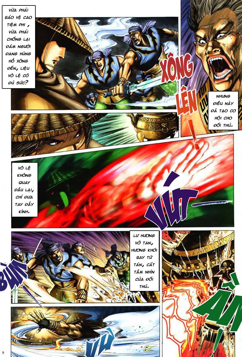 Anh hùng vô lệ Chap 7: Biệt ly trùng phùng hận trang 10