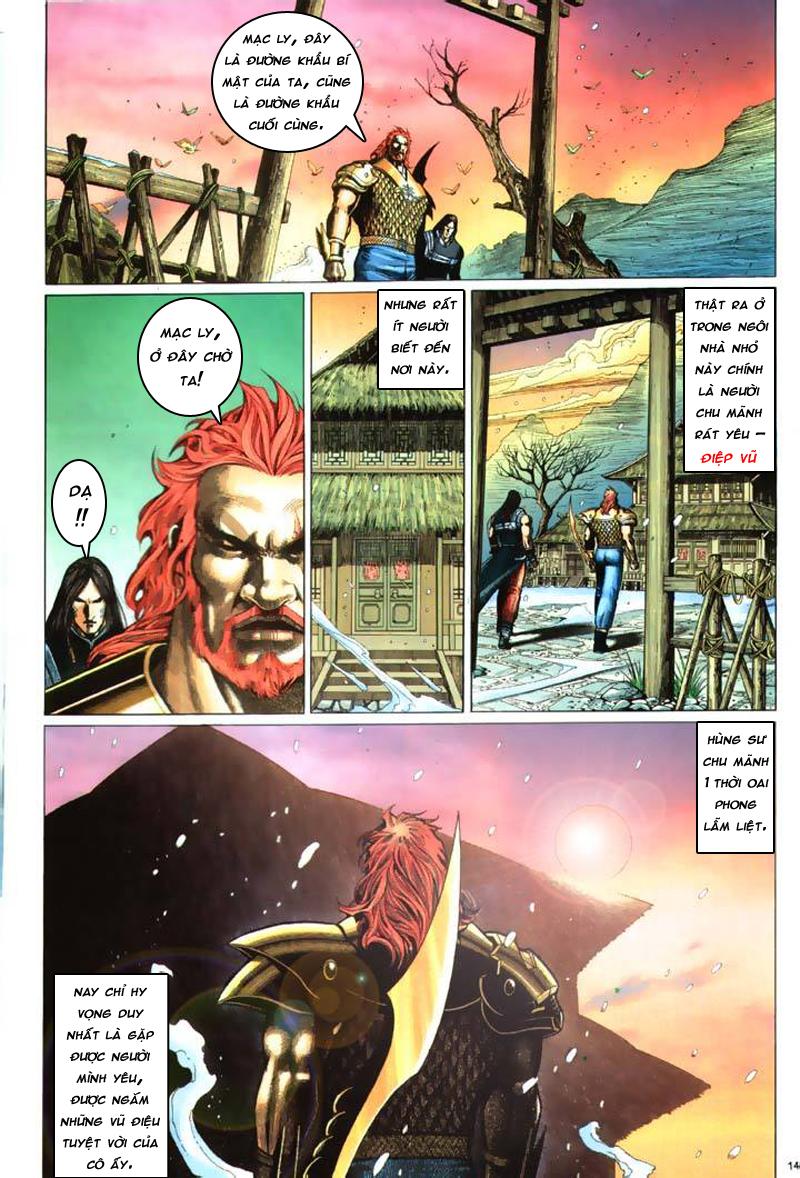 Anh hùng vô lệ Chap 7: Biệt ly trùng phùng hận trang 15