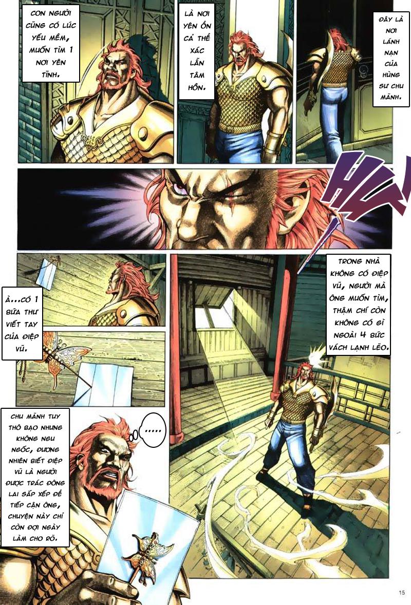 Anh hùng vô lệ Chap 7: Biệt ly trùng phùng hận trang 16