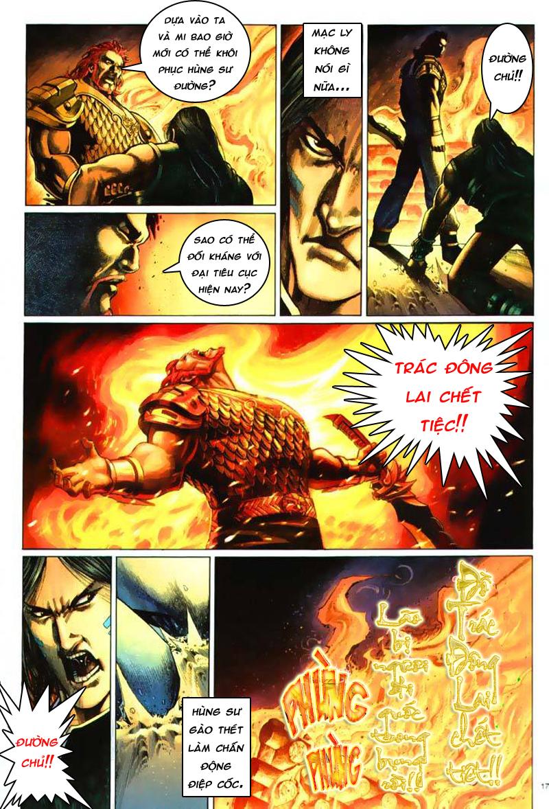 Anh hùng vô lệ Chap 7: Biệt ly trùng phùng hận trang 18