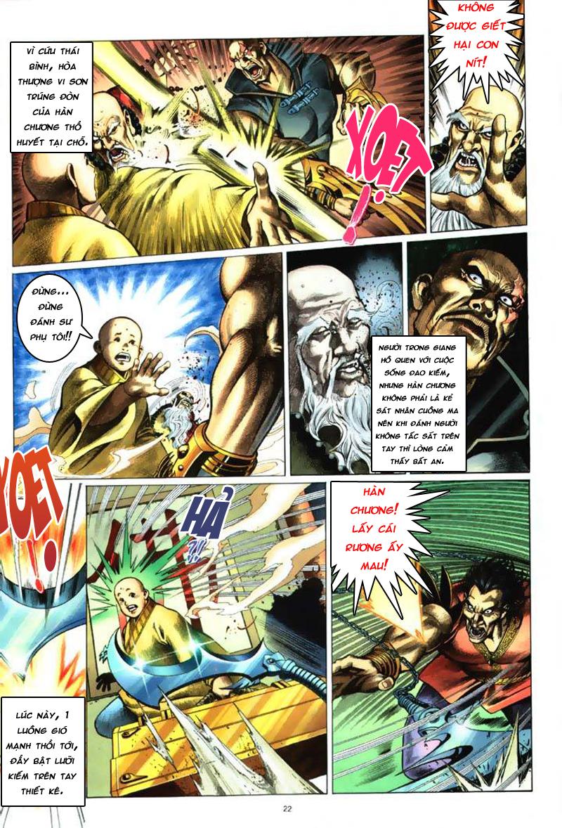 Anh hùng vô lệ Chap 7: Biệt ly trùng phùng hận trang 23