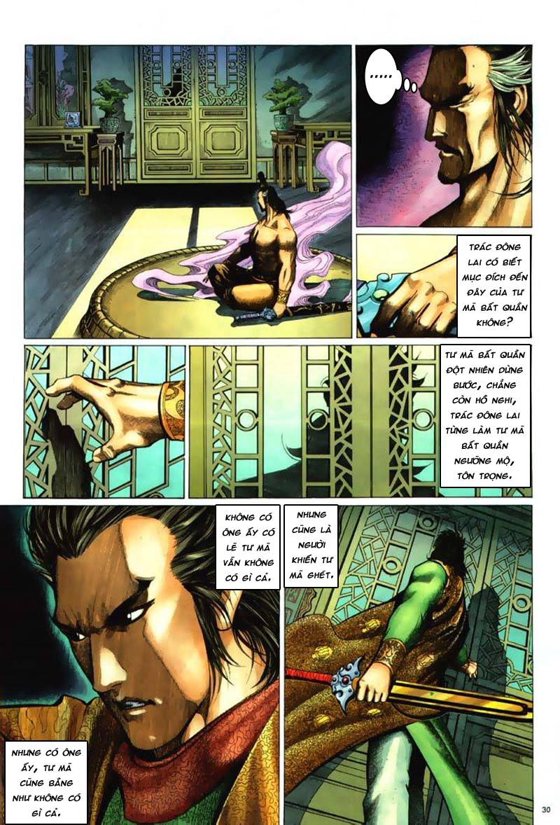 Anh hùng vô lệ Chap 7: Biệt ly trùng phùng hận trang 31