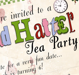 Bnute Productions Mad Hatter Tea Party Decoration And Menu Ideas