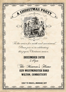 tudor menu template - bnute productions a victorian christmas party dickens