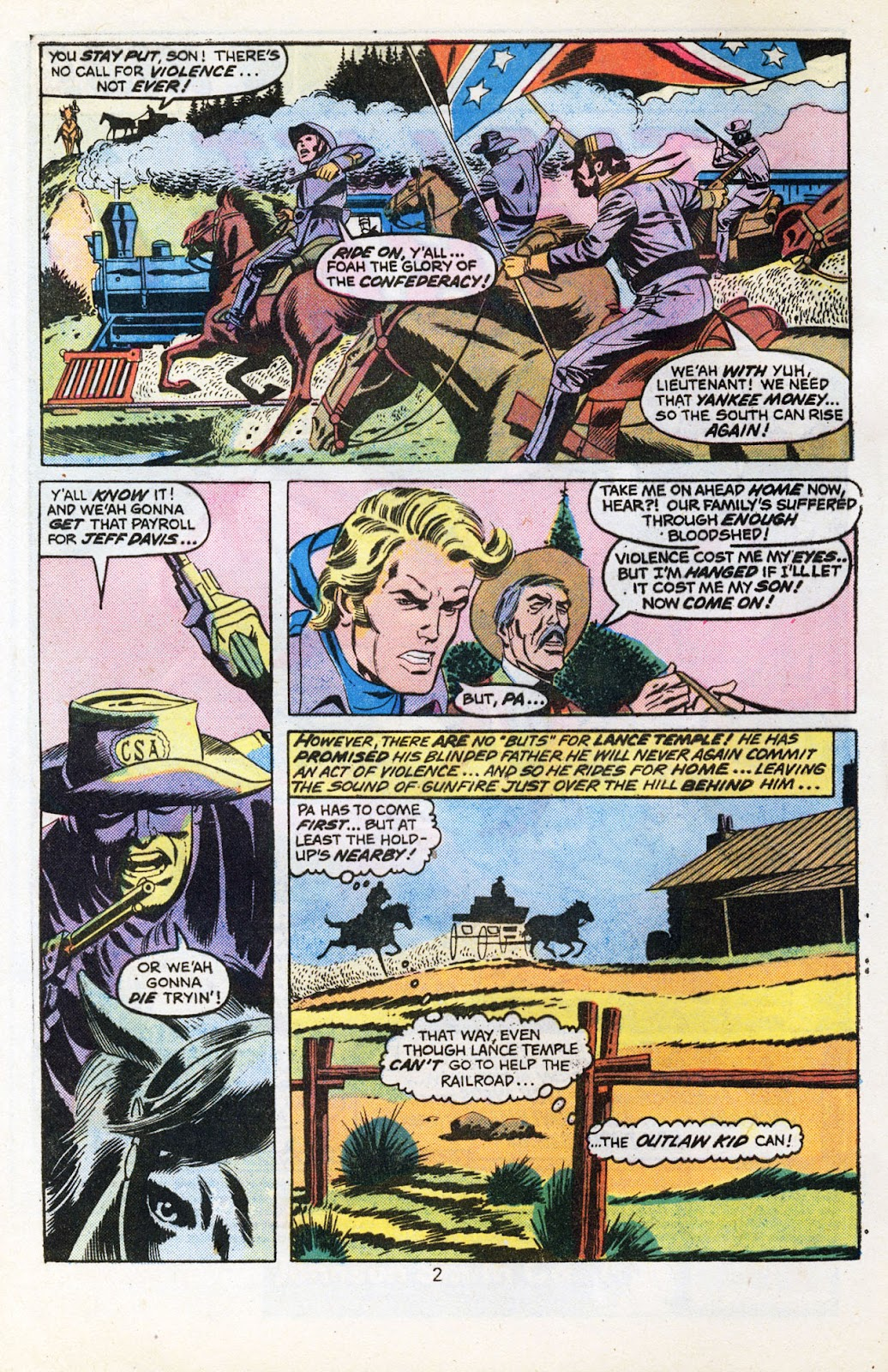 The Outlaw Kid (1970) issue 30 - Page 4