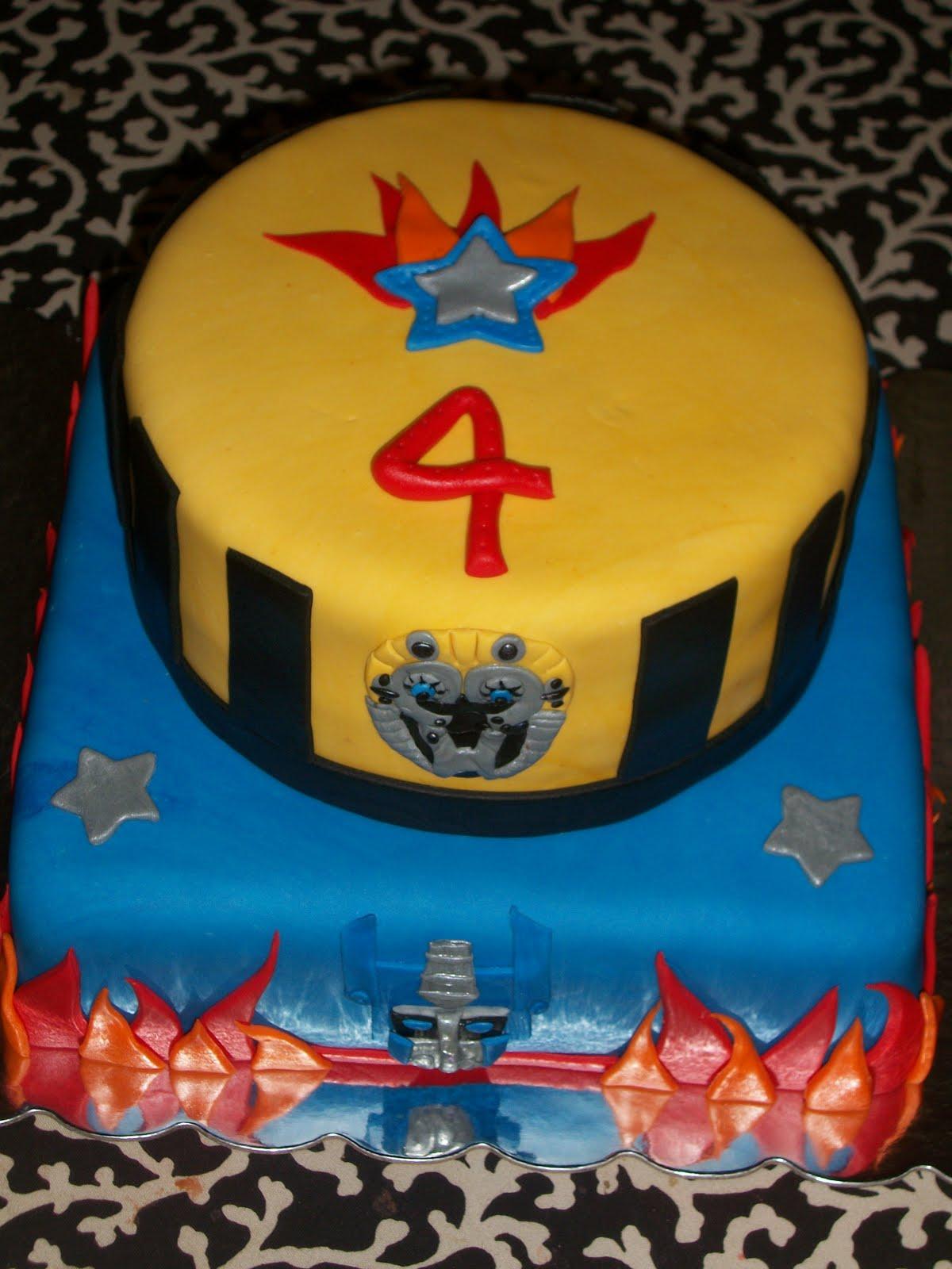 Sweet Pea Cake Company Transformers Cake