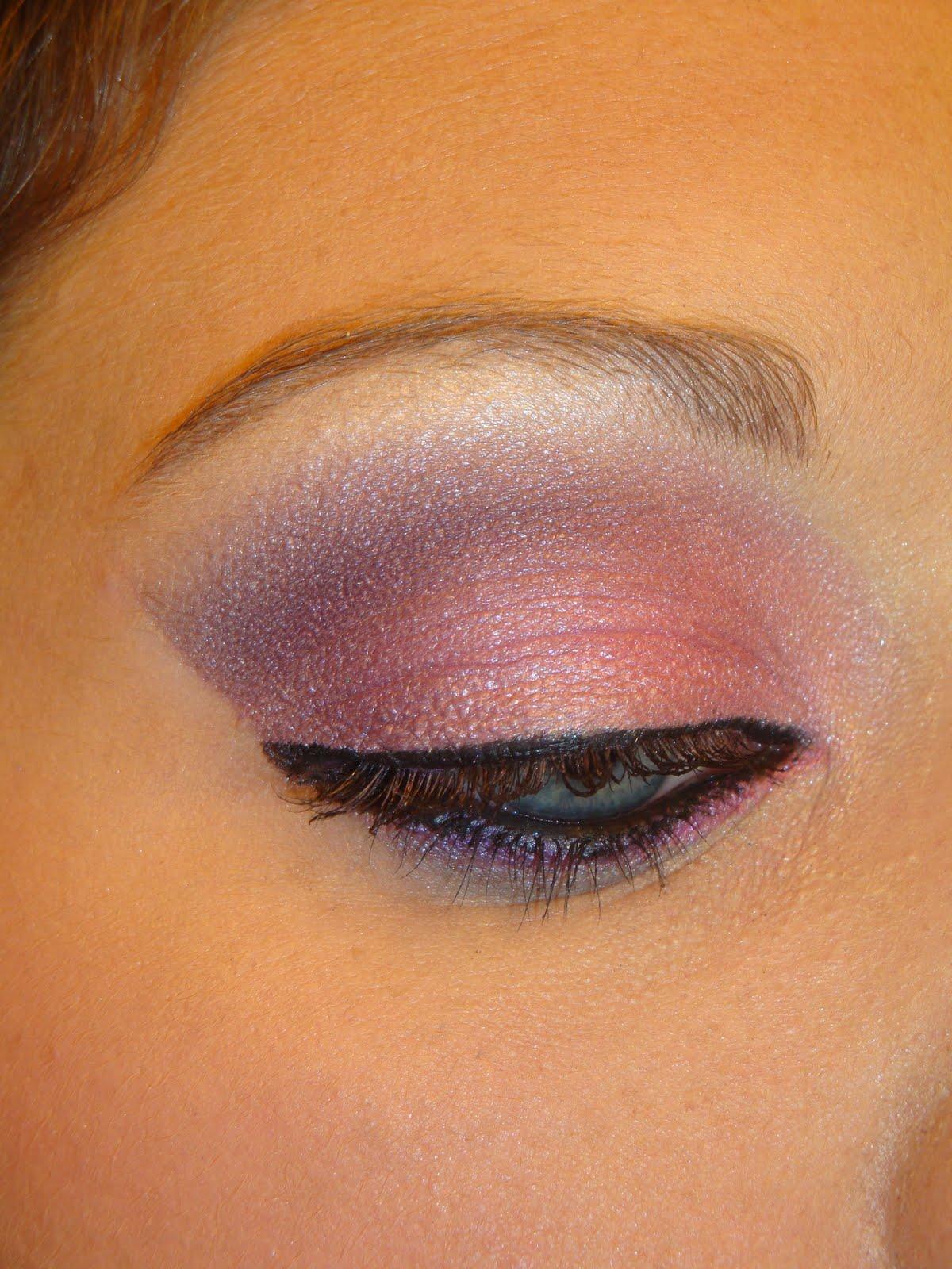 Dramatic Pink Eye Makeup: Make Up By Jess: Dramatic Pink & Purple Eyes