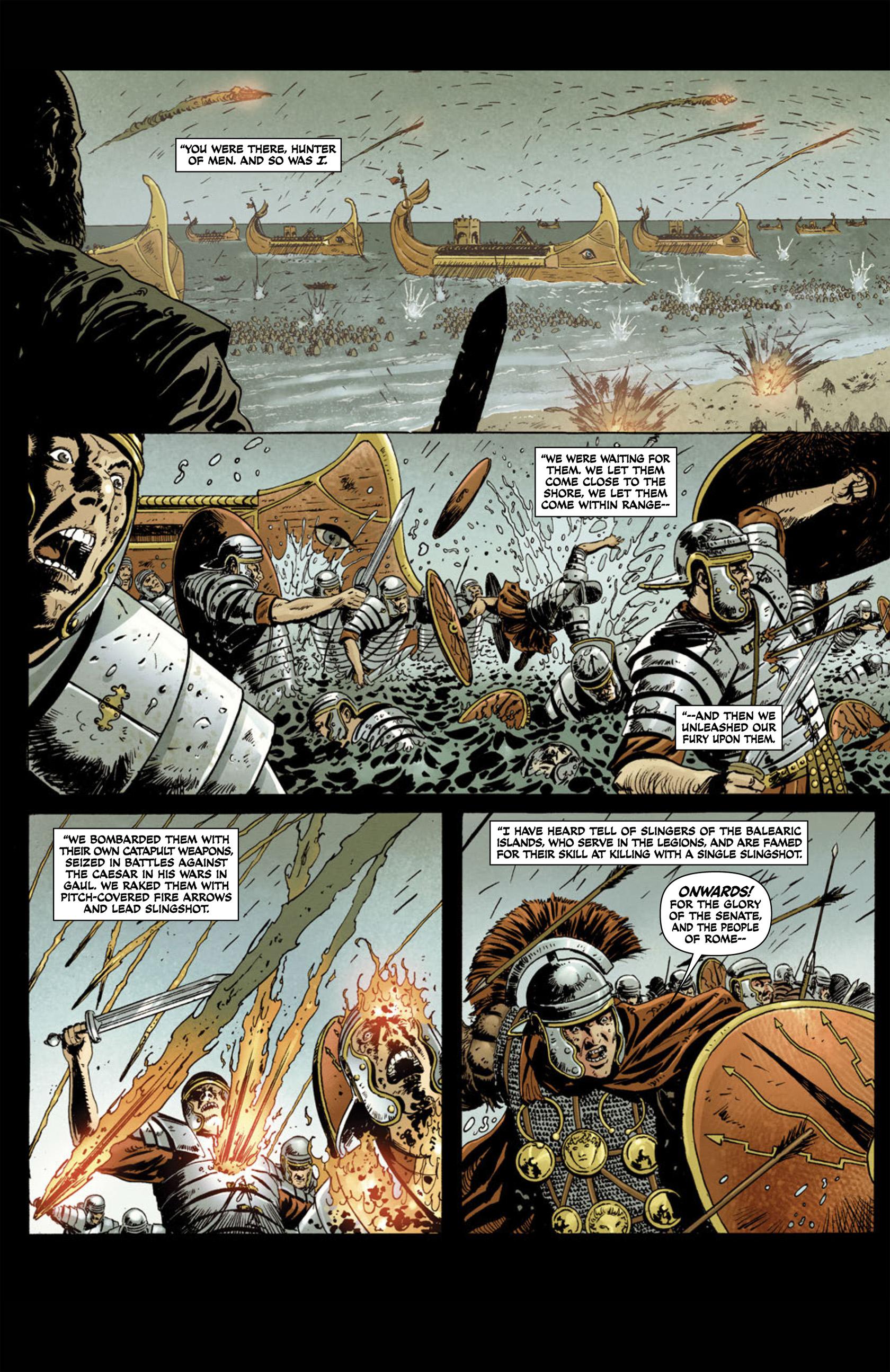 Read online Aquila comic -  Issue #1 - 6
