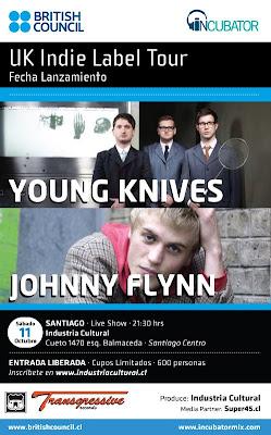 Young Knives y Johnny Flynn GRATIS.11 Octubre