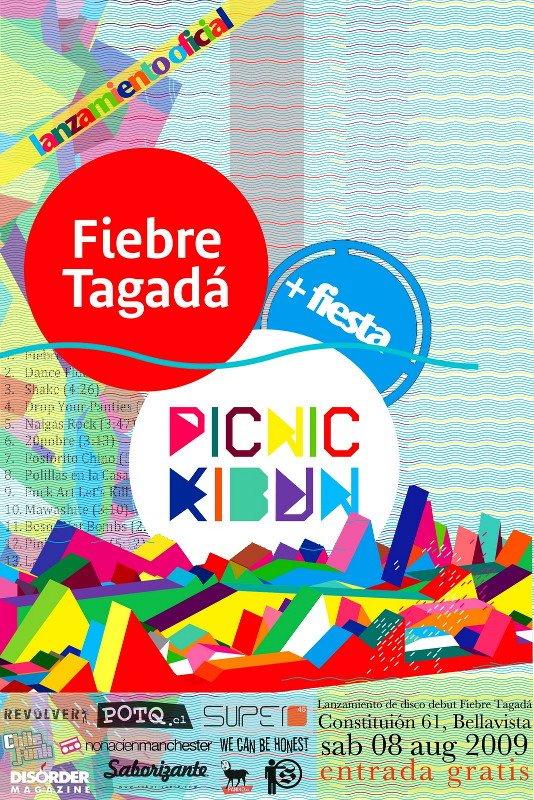 Lanzamiento Oficial Fiebre Tagada de Picnic Kibun este sabado.