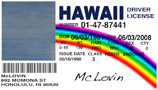 Card With Custom A Card Mclovin Make Your Id Picture