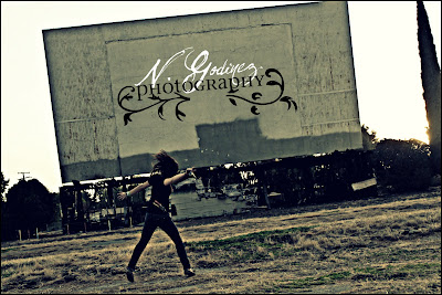 Taken at the old Porterville Drive-in Theater
