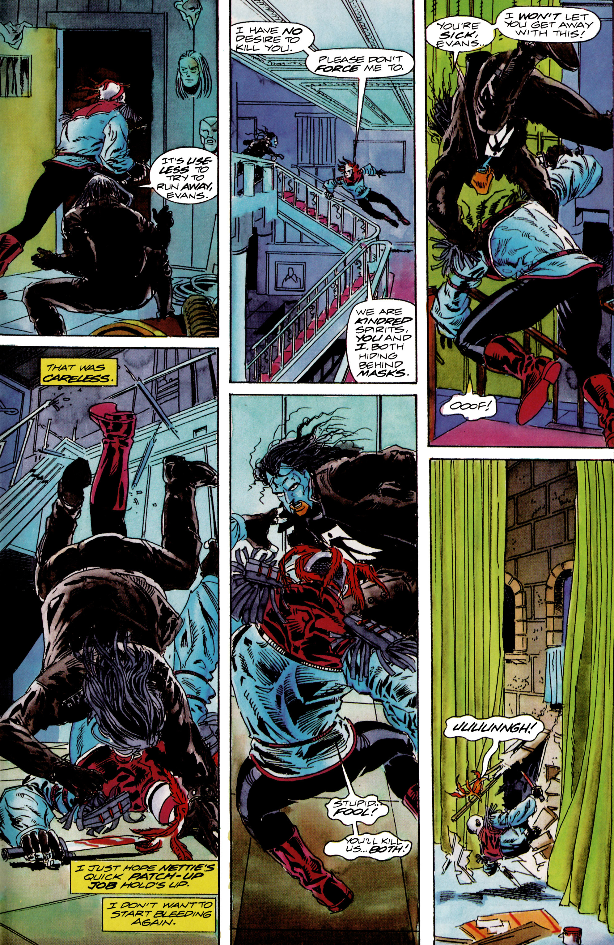 Read online Shadowman (1992) comic -  Issue #13 - 21