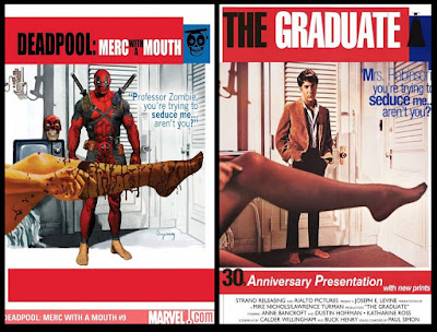 Jimsmash Another Marvel Homage Cover Another Deadpool