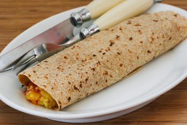 Egg Burritos To Die For found on KalynsKitchen.com