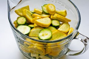 Zucchini Bake with Feta and Thyme found on KalynsKitchen.com