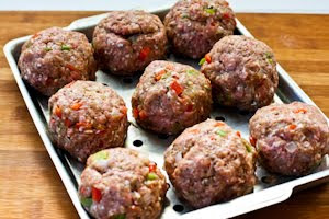 Kalyn's Kitchen®: Ground Beef, Italian Sausage, and Peppers Meatloaf ...