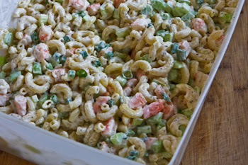 Shrimp and Macaroni Salad found on KalynsKitchen.com