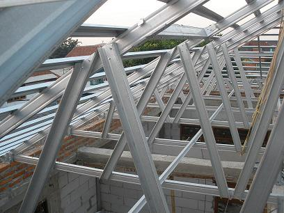 bagus atap baja ringan atau kayu bakti struss: sebagai konstruksi penutup ...
