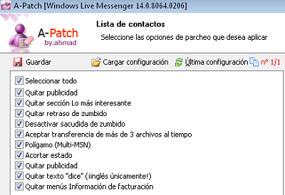 patch anti mise a jour msn messenger 7.5