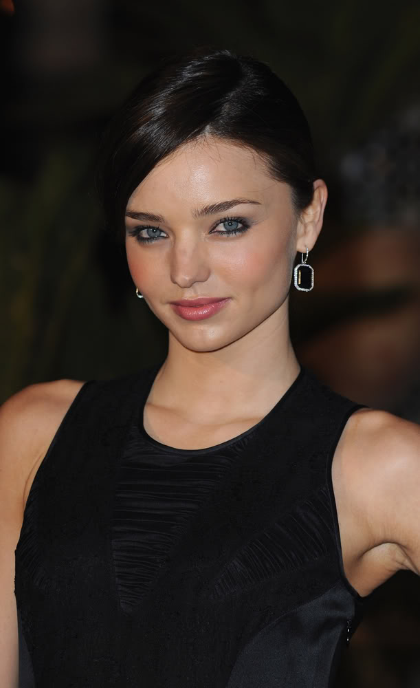 miranda kerr dark hair
