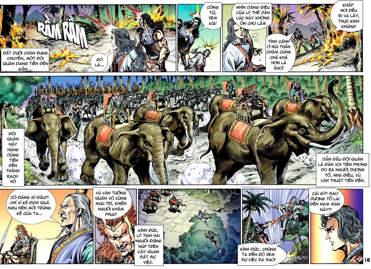 Đại Đường Uy Long chapter 36 trang 18