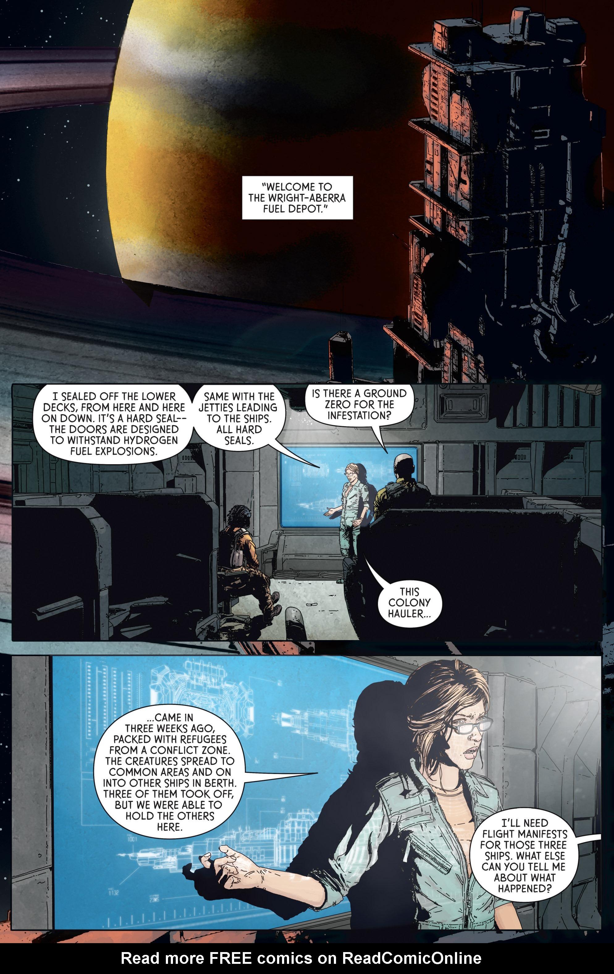 Read online Aliens: Defiance comic -  Issue #5 - 13