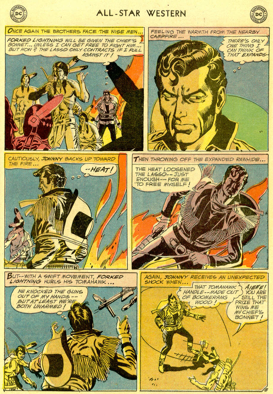 Read online All-Star Western (1951) comic -  Issue #103 - 31