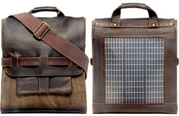 backpack con panel solar