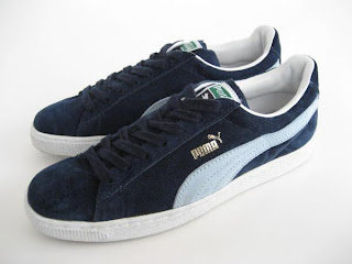 info for 3a163 864cc Puma Trainers - colourways and variations: Puma Suede - navy ...