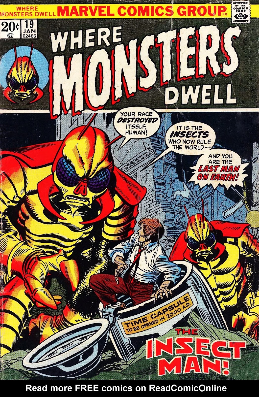 Where Monsters Dwell (1970) issue 19 - Page 1