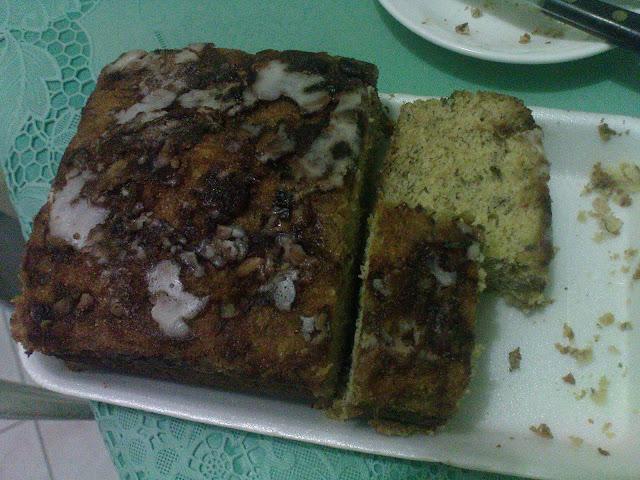 Banana Cake from Insular Bakery