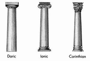 Image result for greek column drawing