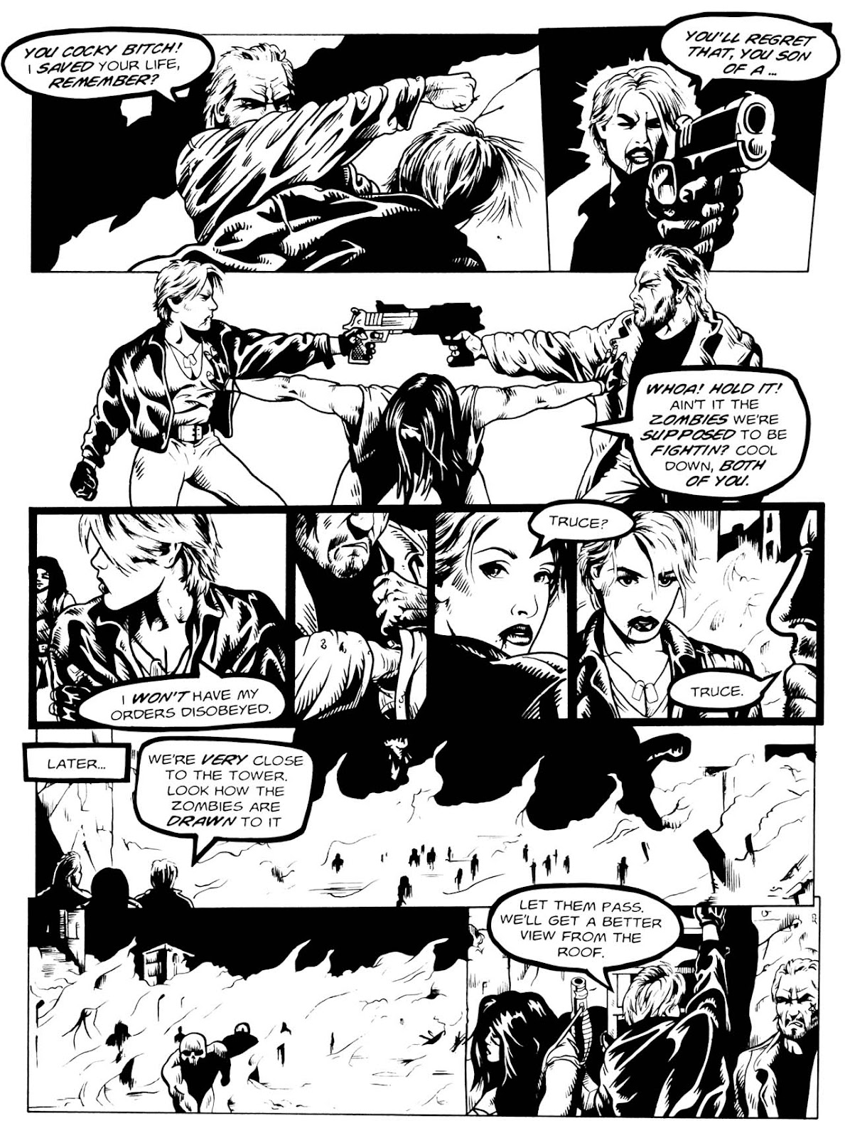Read online Night of the Living Dead (1994) comic -  Issue #3 - 21