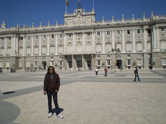 Palacio Real de Madri Espanha