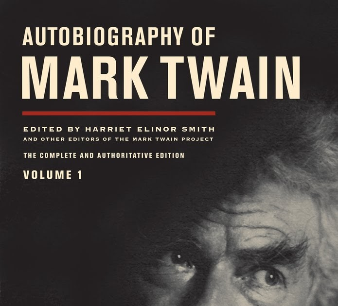 Biography Book Covers: Paul Davis On Crime: Mark Twain's Autobiography Flying Off