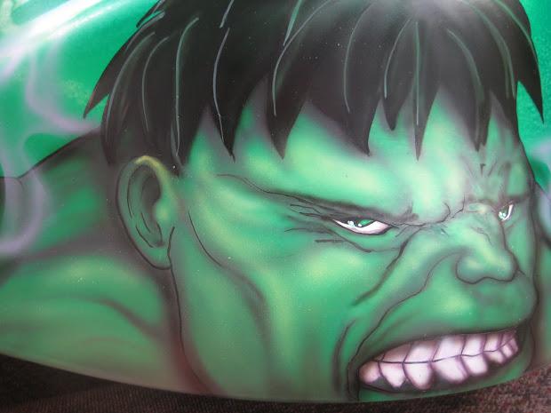 """da Triggaman' Passion"" Incredible Hulk - Hayabusa"