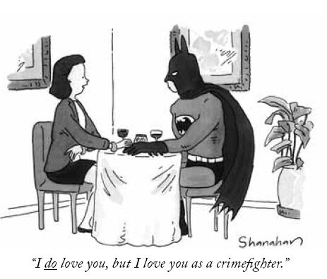 Batman on a date