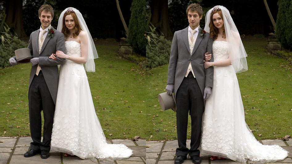 Amy Pond Wedding Dress