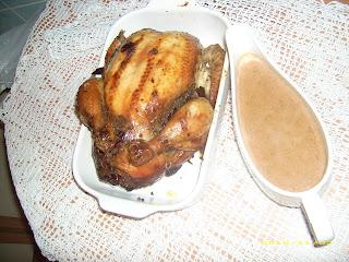 Kurczak nadziewany wątróbką i żurawiną