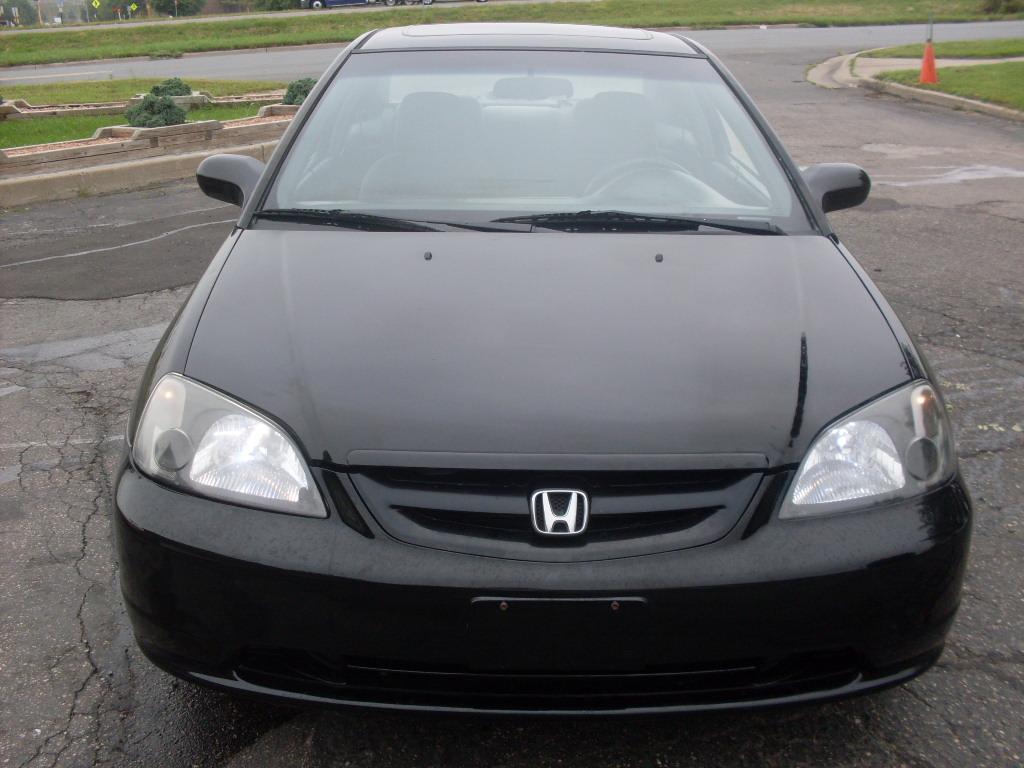 Ride Auto 2002 Honda Civic Ex 2 Door Coupe 1 7 Liter 4