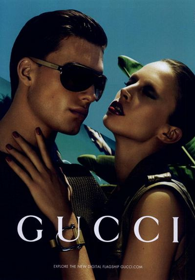 4b887659d8 The gorgeous models Raquel Zimmermann and Nikola Jovanovic present the Gucci  Resort 2011 Collection. The talanted Mert Alas and Marcus Piggott are  behind ...