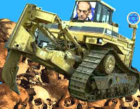 Image result for jew in a bulldozer