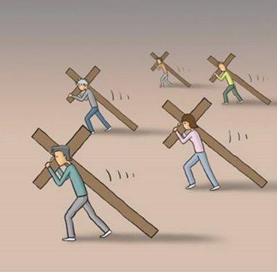 Resultado de imagen de Llevar nuestra cruz